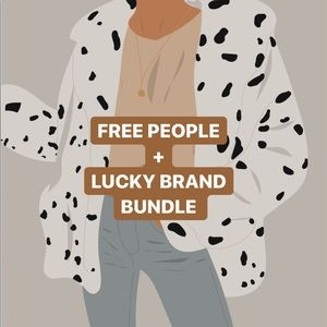 ⚡️FREE PEOPLE + LUCKY BRAND MYSTERY BUNDLE